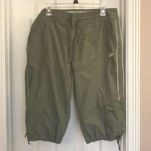 Nike Capris Army Green